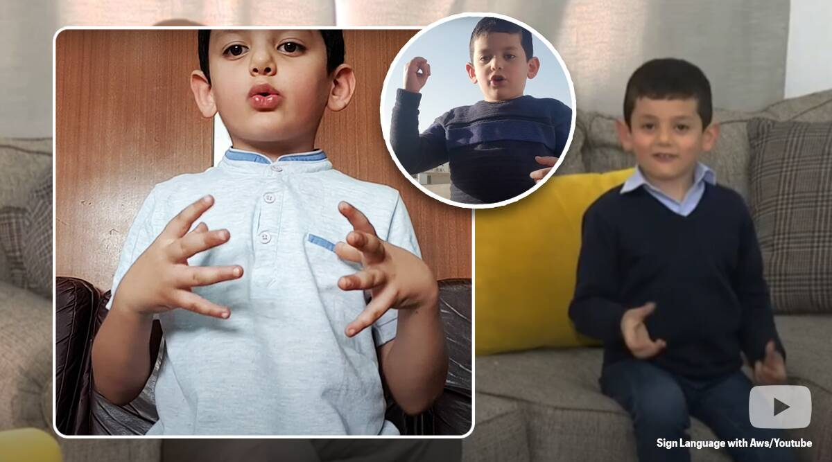 Jordan: 5-year-old makes waves online with sign language tutorial videos