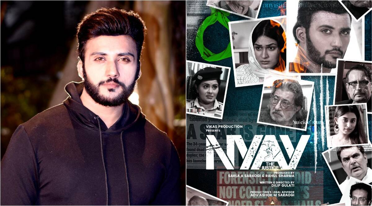 Actor Nyay The Justice, Zuber K Khan, has said that Sushant Singh is not a biographical film about Rajput, but 'a tribute'
