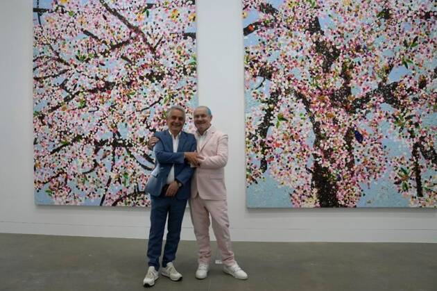 Hirst has been working on the series for over 3 years