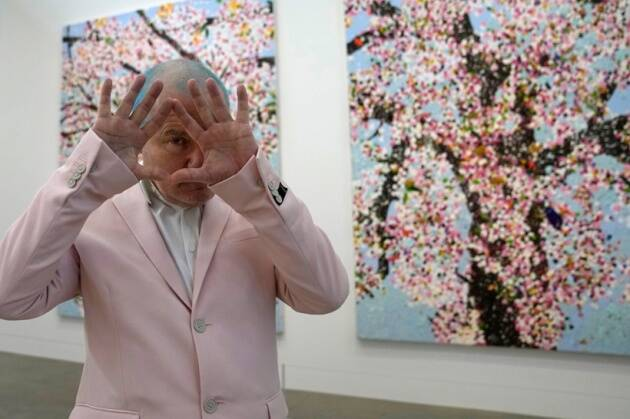 Hirst began the series as an idea of rebirth