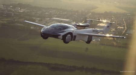 Flying car, Flying cars, AirCar, AirCar Prototype 2, AirCar flight