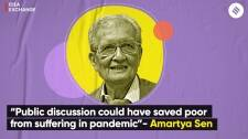 """Amartya Sen Exclusive: """"Public discussion could have saved poor from suffering in a pandemic"""""""