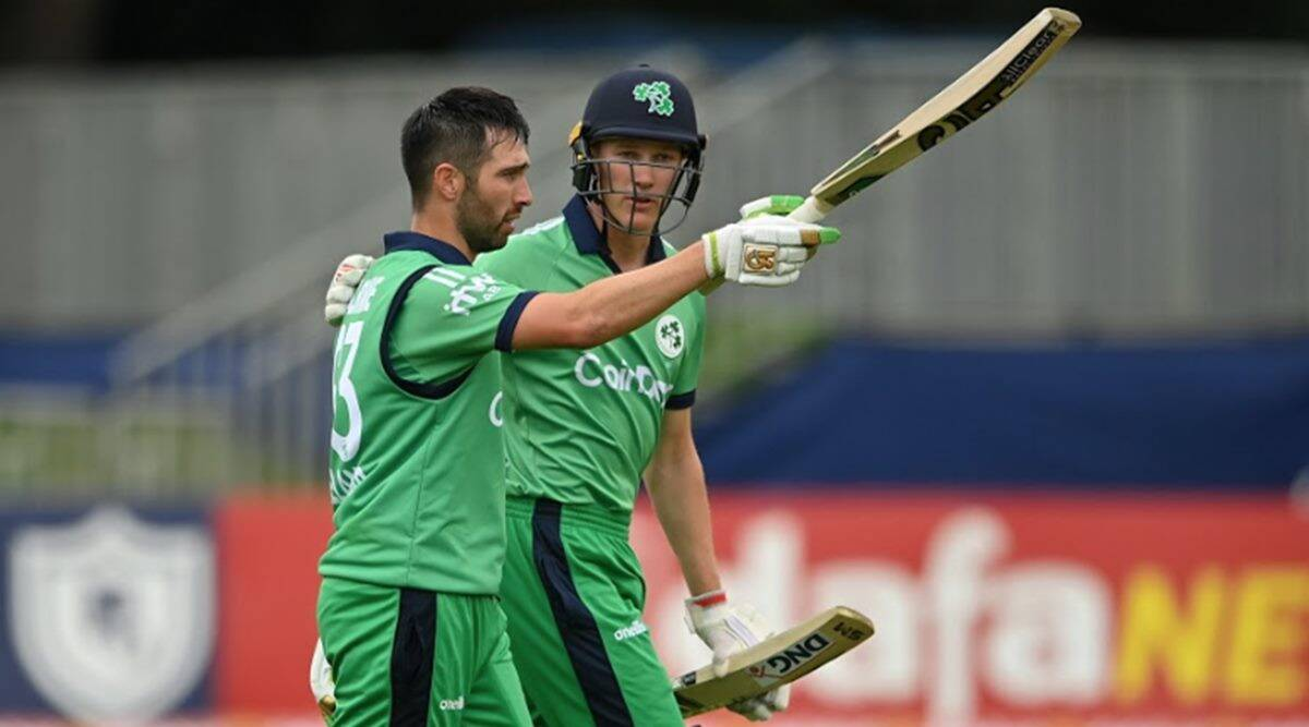 Andy Balbirnie, Andy Balbirnie 102 vs South Africa, Ireland beat South Africa, Ireland first win south africa, Ireland ODI wins, South AFrica tour of Ireland