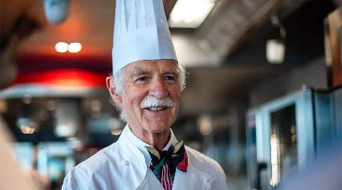Chef Anton Mosimann, who is Anton Mosimann, Anton Mosimann awards, Anton Mosimann receives Swiss Culinary Merit of Honor, Chef Mosimann, Swiss Chef, Culinary Award, indian express news