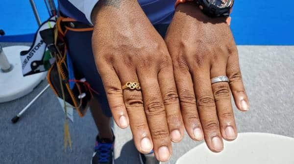 Atanu Das, Atanu Das archery, Atanu Das tokyo olympics, Atanu Das Deepika Kumari, Atanu Das rings tokyo olympics, atanu das olympic rings