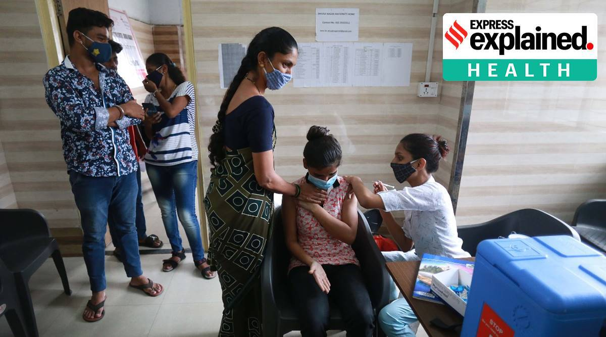 BMC vaccination, BMC, Covid-19 vaccination, private vaccination camps in Mumbai, Vaccination at societies, Work Place vaccination, explained health, Express Explained