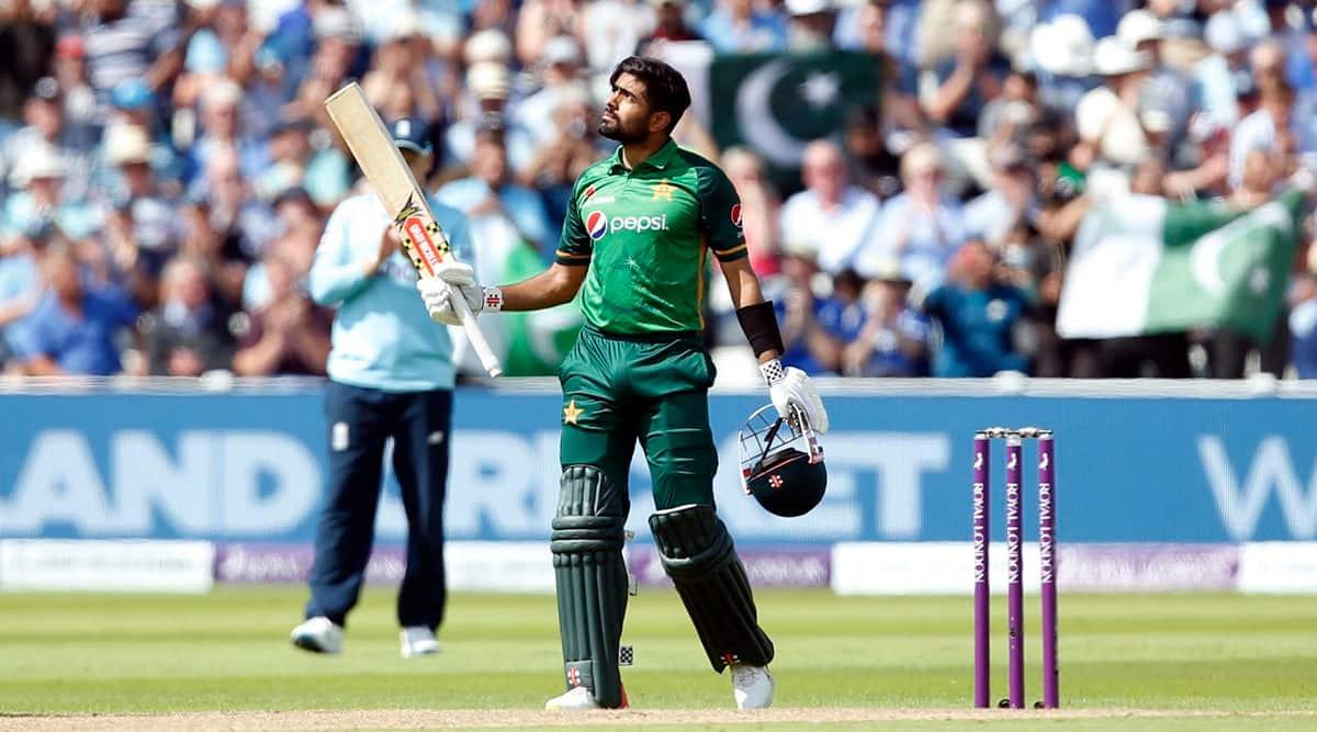 babar azam, babar azam 14th odi century, quickest to 14th odi century, babar azam century england, babar azam odi records, england vs pakistan, pakistan vs england, pakistan tour of england 2021
