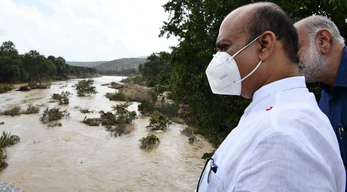 Basavaraj Bommai, Karnataka floods
