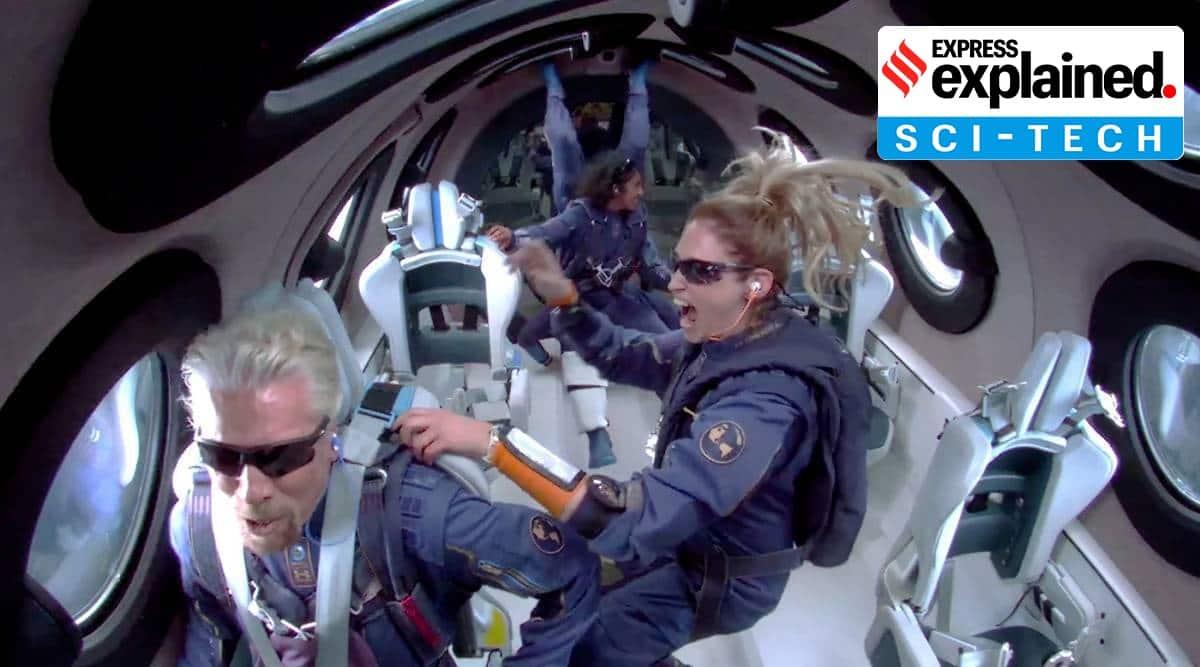 Richard Branson, space, edge of space