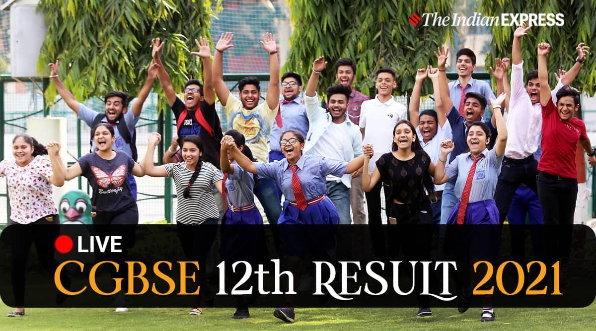 cgbse, cgbse result, cgbse.net, www.cgbse.net, cgbse 12th result 2021