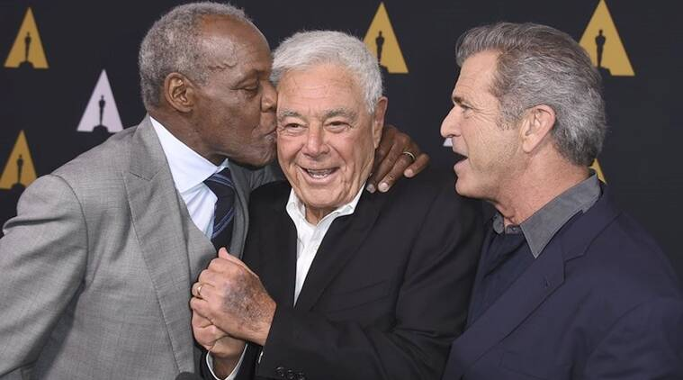 Richard Donner with Danny Glover Mel Gibson