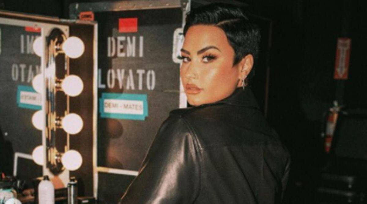 Demi Lovato, Demi Lovato news, Demi Lovato gender non-binary, Demi Lovato on misgendering them, Demi Lovato pronouns, Demi Lovato International Non-Binary Awareness Week, indian express news