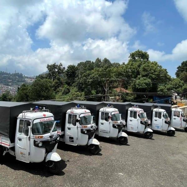 autorickshaw ambulances