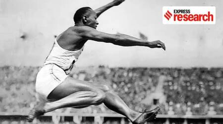 Olympics, Olympics 2021, Olympics 1936, Olympics history, Hitler and Olympics, Jessie Owens, Olympics and political propaganda, Olympic games, Adolf Hitler, Olympics in Germany, Olympics news, Sports news, Indian Express