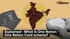 Explained- What is One Nation One Ration Card scheme?