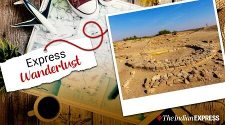 Express Wanderlust, Dholavira, visiting Dholavira, planning a trip to Dholavira, how to reach Dholavira, things to see in Dholavira, why is Dholavira famous, UNESCO World Heritage Site, Indian Express news