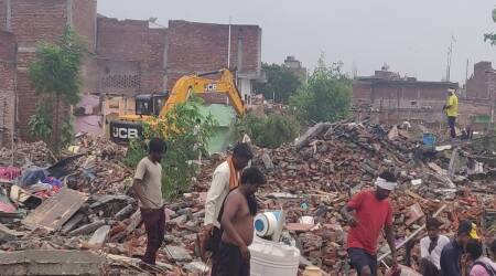 After SC grants more time, Faridabad Municipal Corporation picks up pace of demolitions in Khori village