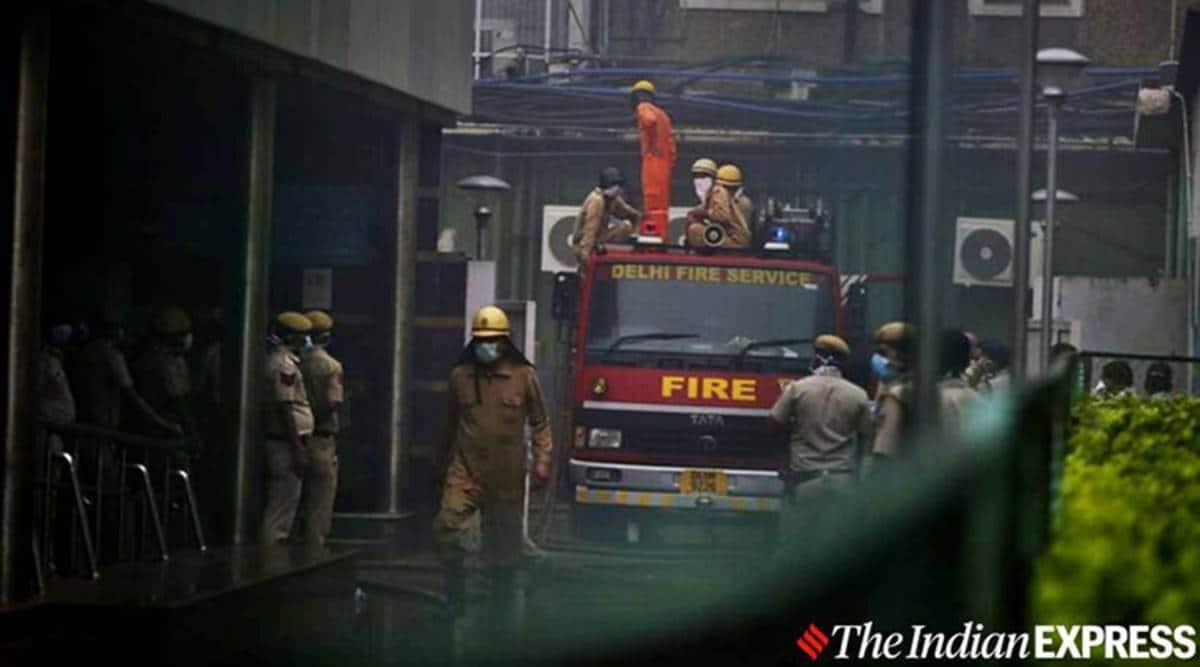 Maharashtra Sadan fire,