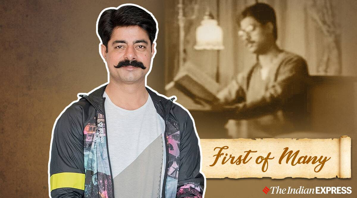 sushant singh debut first acting ambedkar film