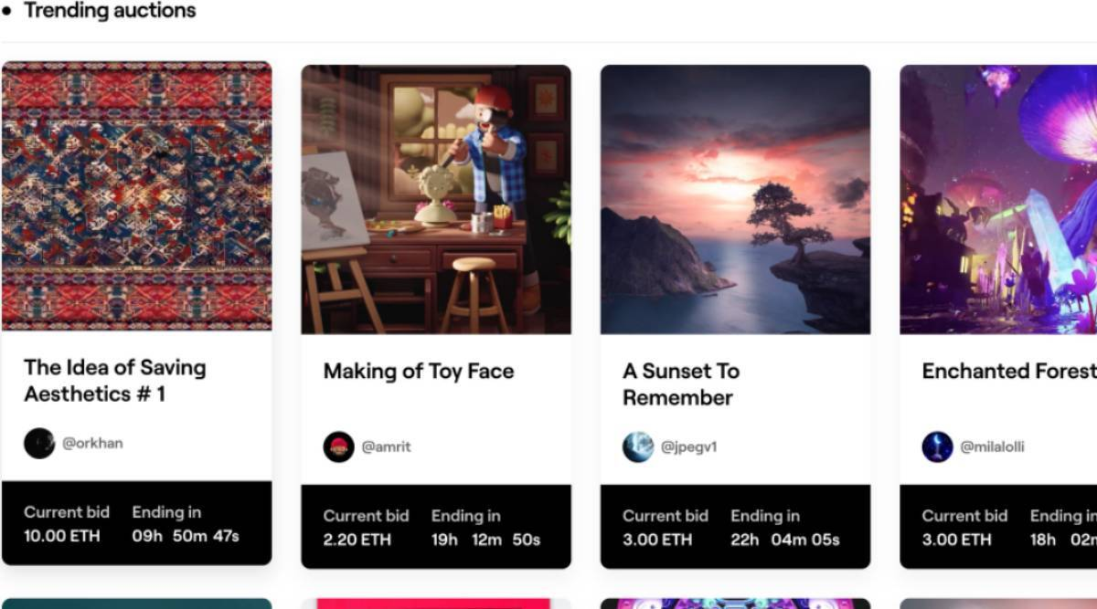 NFTs, NFTs in India, Non fungible tokens, What is an NFT, NFT artists in India, NFT experiences, NFT features, How to mint an NFT