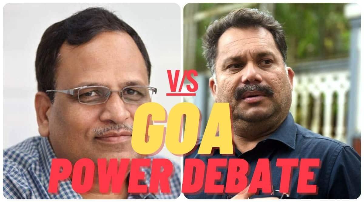 goa power debate, goa free electricity, nilesh cabral debate, bjp app goa debate, aap debate goa, watch live prudent goa, goa power debate live, goa news, indian express