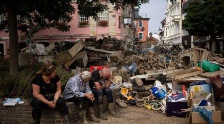 Germany Floods Towns' Trauma