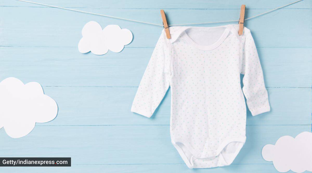 baby clothes, taking care of baby clothes, how to wash baby clothes, buying baby clothes, baby clothes for sensitive skin, how to clean baby clothes, parenting, indian express news
