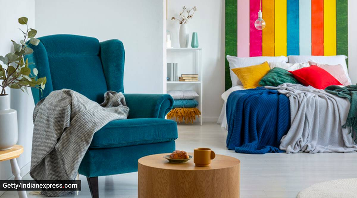 home decor, rainy weather home decor, monsoon home decor, adding colours to the room, home decor in the monsoon season, how to elevate home look in monsoon, colourful home decor ideas, indian express news