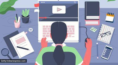 virtual classes, online activities, recreational activities online, students, learning at home, pandemic, isolation, home learning, virtual interactions, online courses, students at home, mental health of students, indian express news