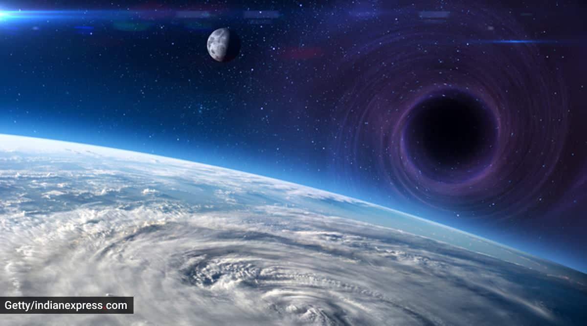 A science teacher explains, parenting, dark matter, what is dark matter, what makes dark matter, how is dark matter formed, dark matter in the galaxy, indian express news