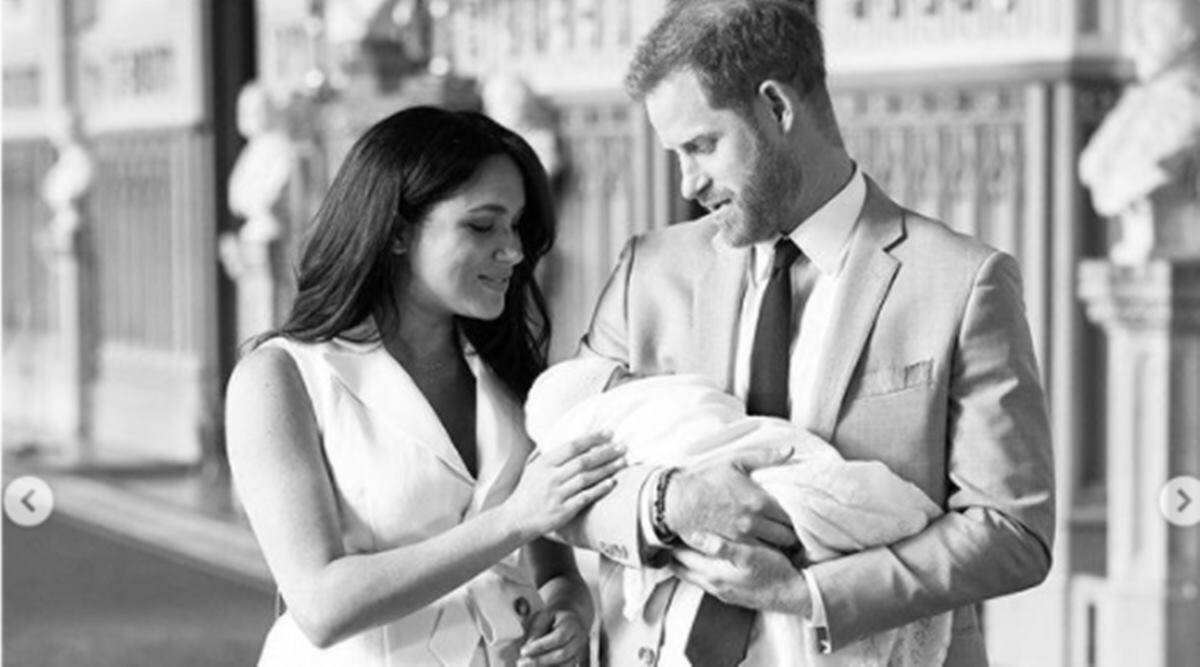 Prince Harry and Meghan Markle, Harry and Meghan, Harry and Meghan on having two children, Harry and Meghan kids, Harry and Meghan climate change, Harry and Meghan environment conscious, Harry and Meghan small family, indian express news