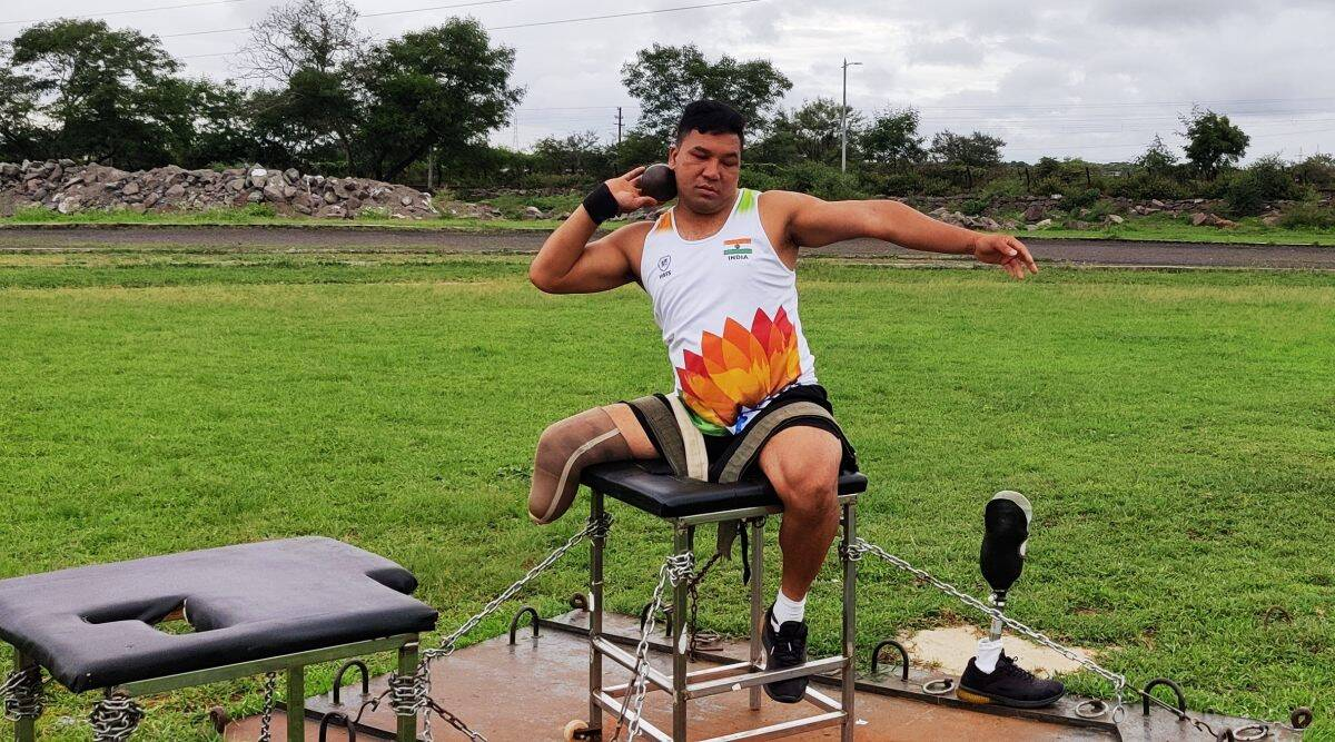 Tokyo Paralymics, Tokyo olympics, indian soldier tokyo olympics paralympics, Havildar Soman Rana Paralympics, Pune news, Indian express news, Pune city news, Pune latest news