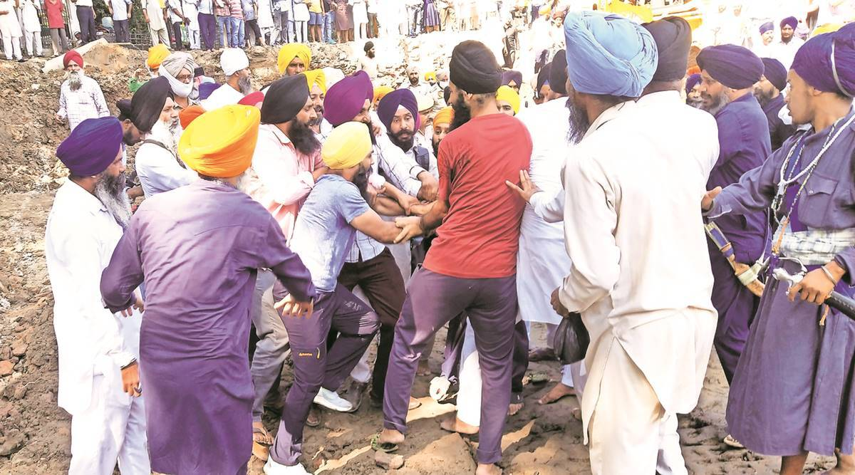 Clash over tunnel-like structures excavated near Golden Temple | India  News,The Indian Express