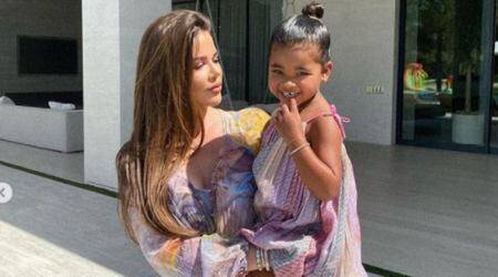 Khloe Kardashian, Khloe Kardashian news, Khloe Kardashian daughter, Khloe Kardashian motherhood, Khloe Kardashian parenting, Khloe Kardashian on race, Khloe Kardashian and True Thompson, indian express news