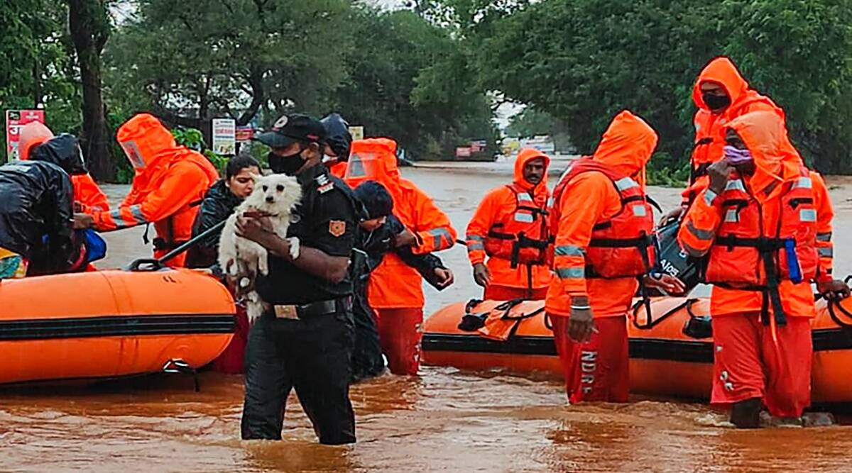 Weather Forecast Today LIVE Updates: Flood rescue efforts on in Maharashtra; 89 bodies recovered, 34 people missing