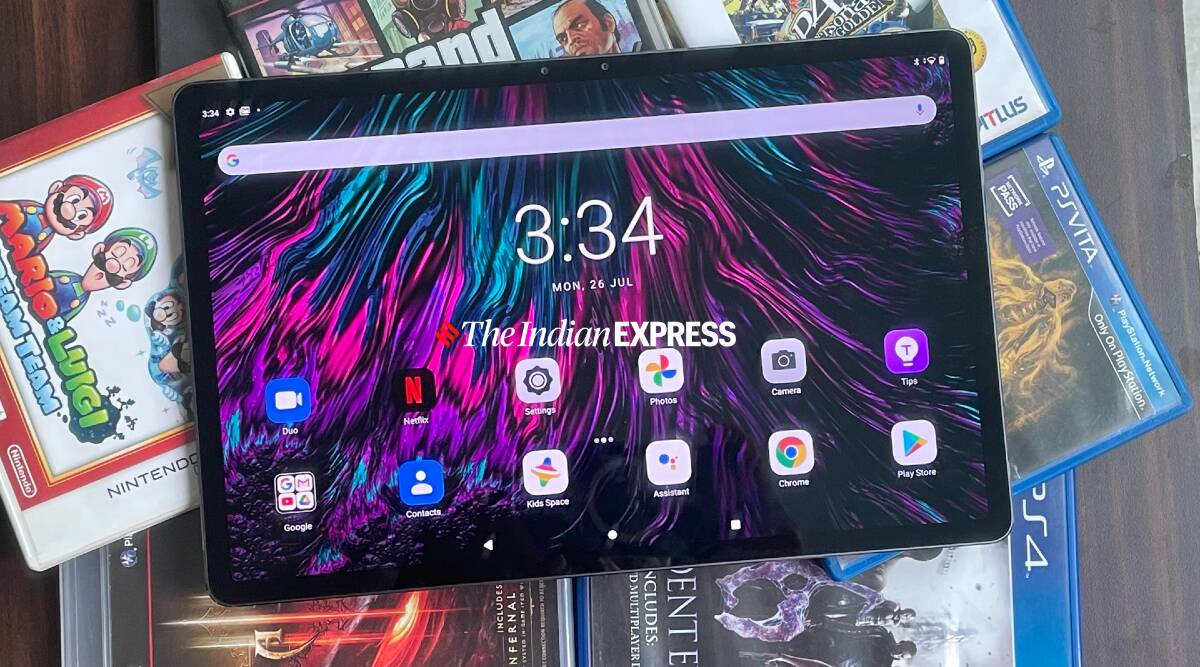 Lenovo Tab P11 Pro review: A wonderful tablet held back by Android - The Indian Express
