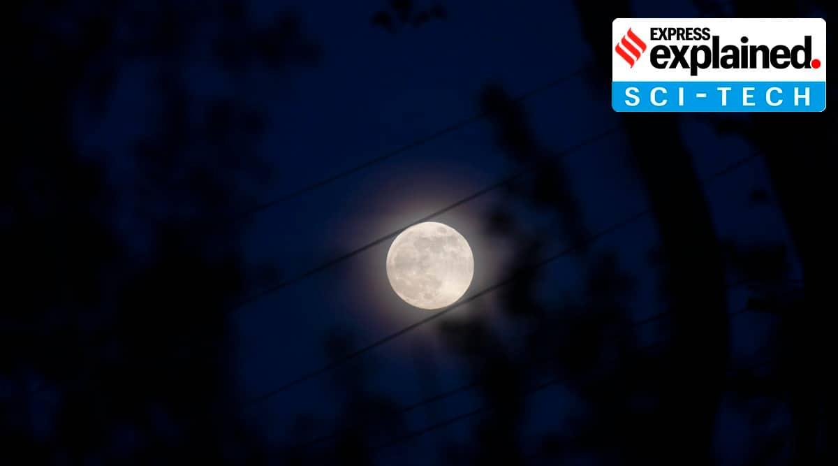 moon wobble effect