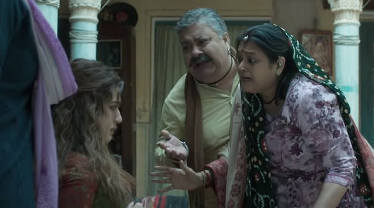 Supriya Pathak with Kriti Sanon