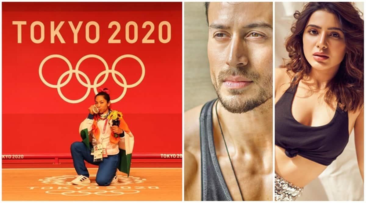 Mirabai Chanu, Samantha Akkineni, Tiger Shroff Sunday workout 1200