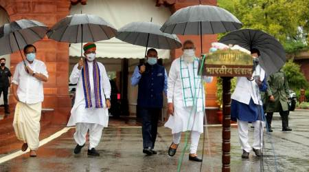 monsoon session of parliament, tmc, opposition, congress, pm modi, indian express news