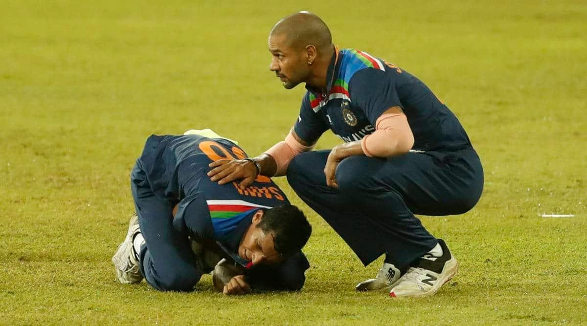 Navdeep Saini, Navdeep Saini shoulder injury, Navdeep Saini sri lanka tour, india tour of sri lanka