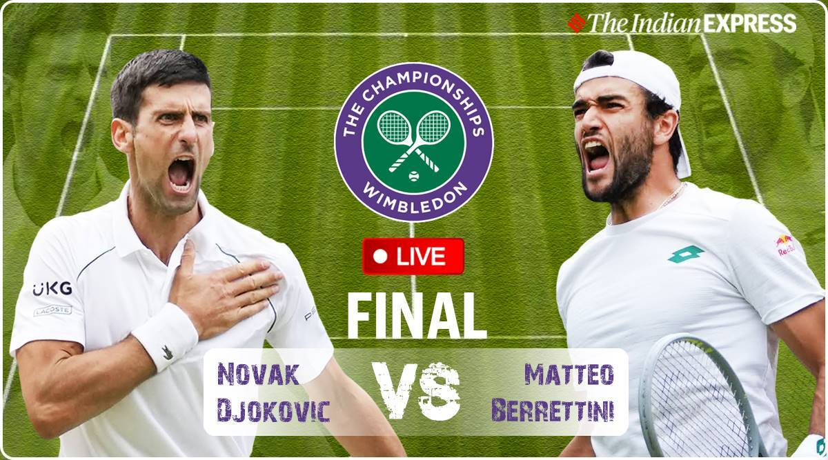 Novak Djokovic vs Matteo Berrettini Live