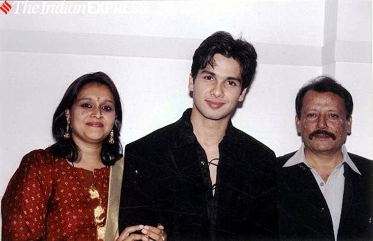 Supriya Pathak with Shahid Kapoor
