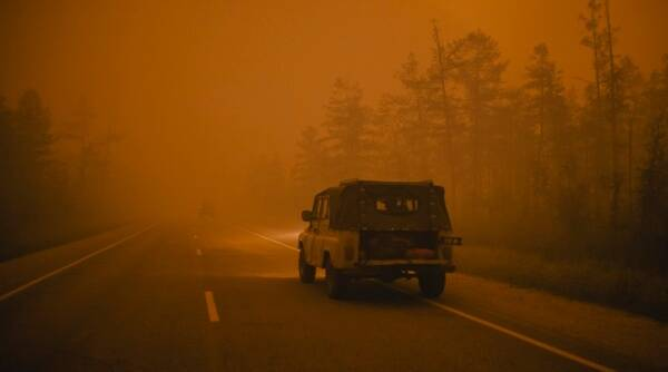 Russia forest fire