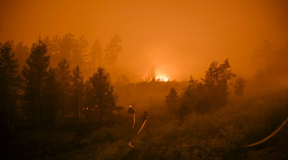 Russia wild fires