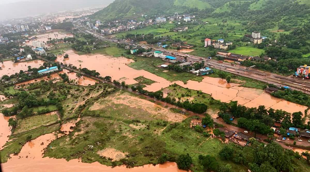 Raigad red alert monsoon landslide satara maharashtra rains