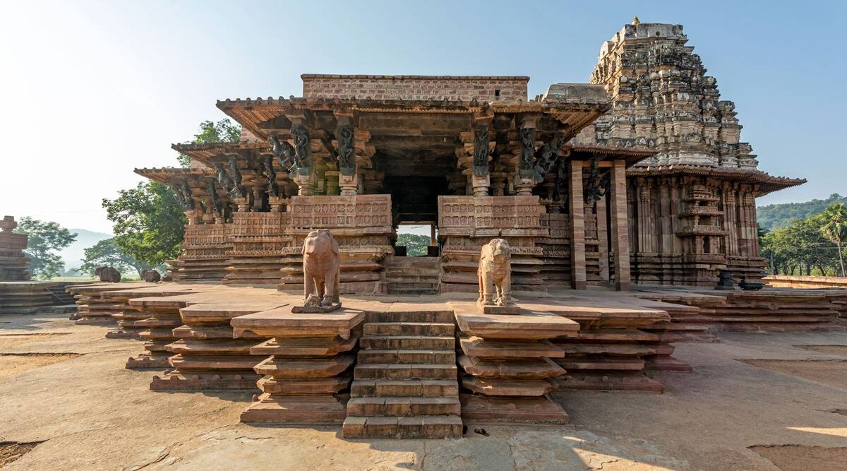 Ramappa temple world heritage site, Ramappa temple UNESCO, where is Ramappa temple, world heritage sites in India, Telangana temple becomes World Heritage Site, UNESCO world heritage sites in India, indian express news