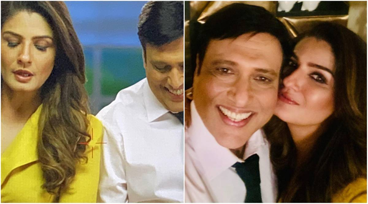 Raveena Tandon shares a glimpse of her 'grand reunion' with Govinda, fans  say 'can't wait' | Entertainment News,The Indian Express