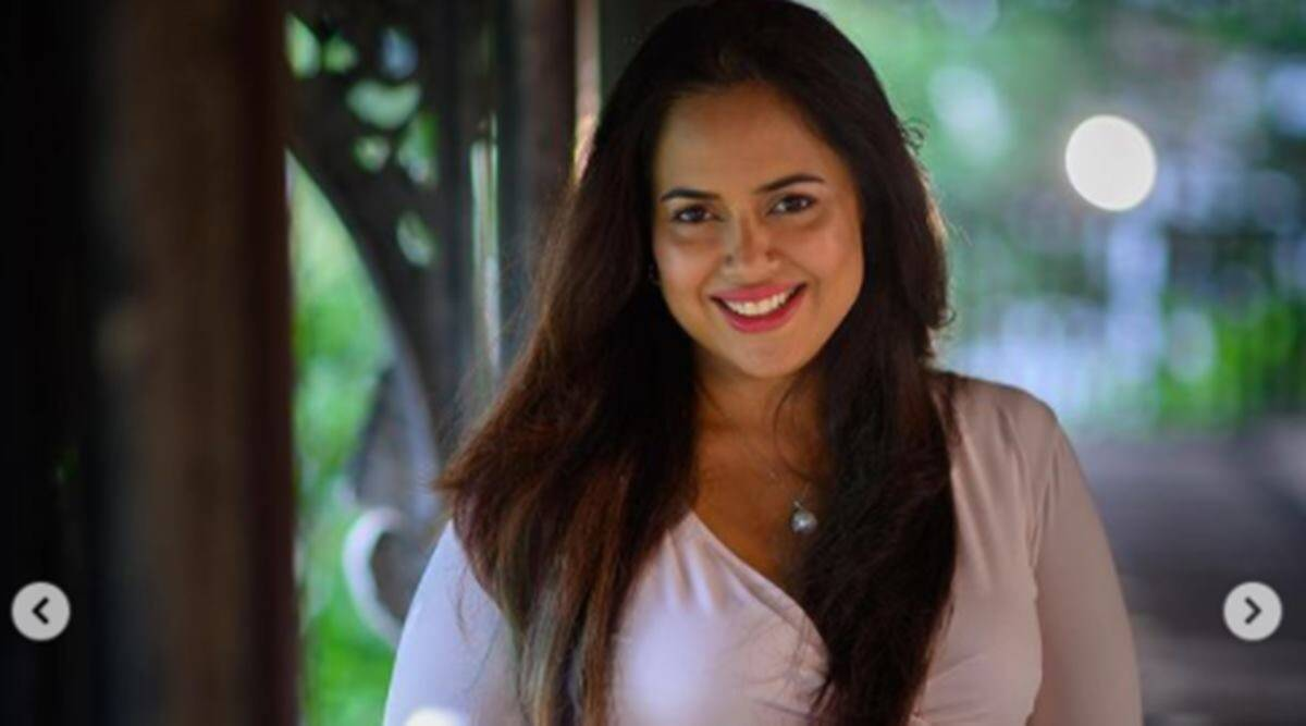 Sameera Reddy, Sameera Reddy news, Sameera Reddy children, Sameera Reddy pregnancy, Sameera Reddy family, Sameera Reddy motherhood, Sameera Reddy on pregnancy changes, indian express news