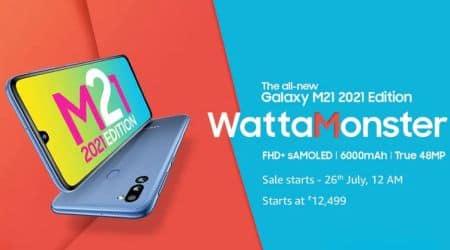 Samsung Galaxy M21, Samsung Galaxy M21 launched